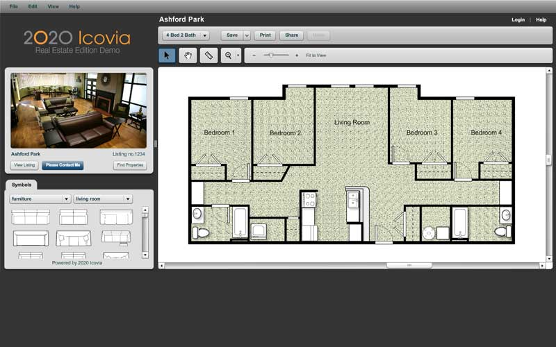 Room planning software 2020 icovia 2d space planning for Space planning software