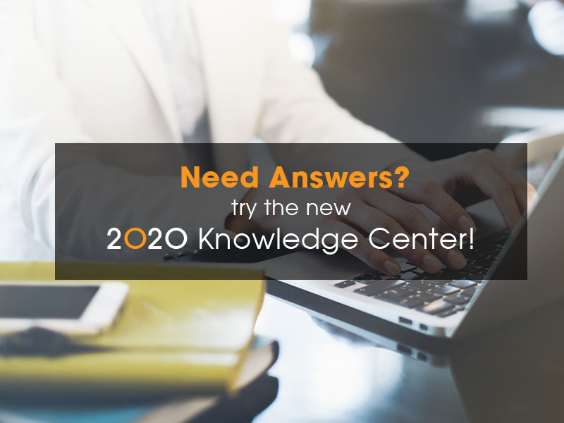 2020 Knowledge Center