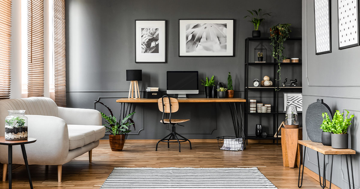 How To Design A Modern Home Office 2020 Spaces